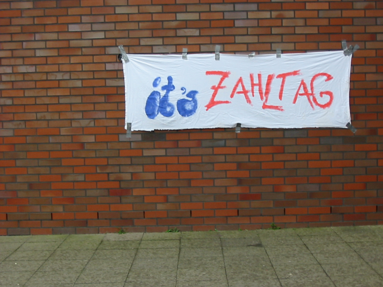 its Zahltag