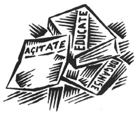 agitate - educate - organize